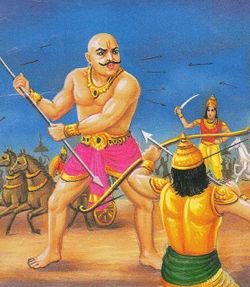 http://bharatdiscovery.org/bharatkosh/w/images/thumb/2/23/Ghatotkach-Karna.jpg/250px-Ghatotkach-Karna.jpg