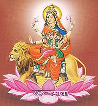 स्कन्दमाता देवी