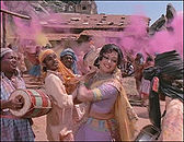 हेमा मालिनी,  गीत- होली के दिन..., फ़िल्म- शोले