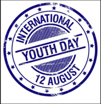 अंतरराष्ट्रीय युवा दिवस वर्ष 2013 का प्रतीक चिह्न